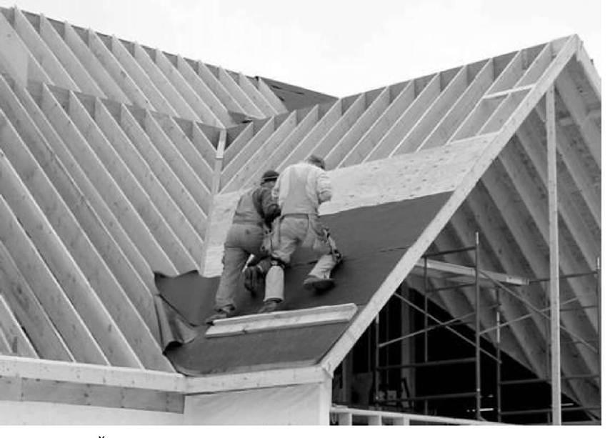 Дизайн крыши в частном доме фото